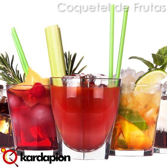 Sugestão, #beber #coquetelDeFrutas www.kardapion.com/beber-coquetel-de-frutas