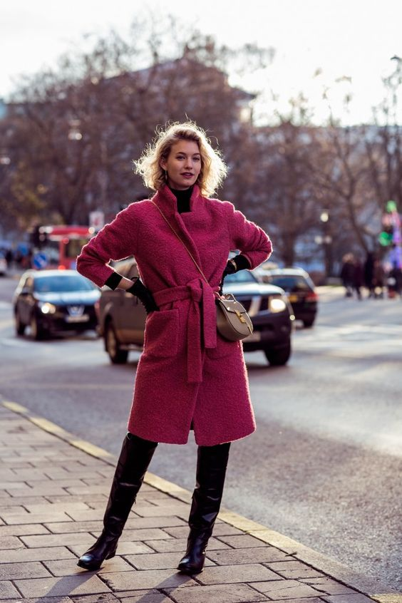 Toughen It Up: The Pink Coat | Pink Coats and Google