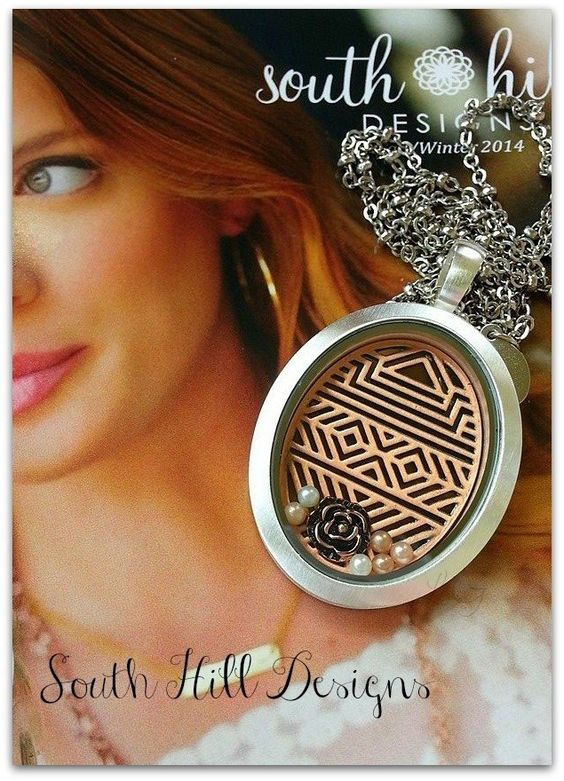 """South Hill Designs lockets. Let me help you create your own """"story"""" at www.southhilldesigns.com Artist # 408675"""