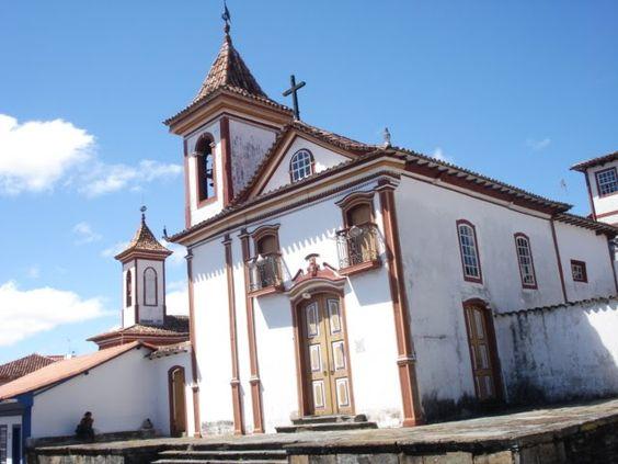 Diamantina, MG - Brasil Igreja N.S. do Bonfim dos Militares