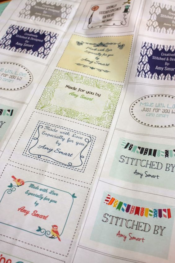 Diary of a Quilter - a quilt blog: Labeling your quilt (just ordered some for myself!!)
