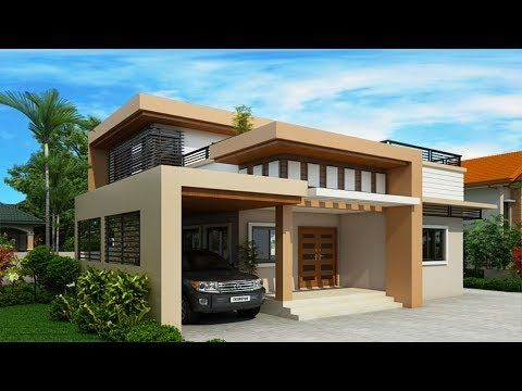 Cute Small Modern House 700 Sft For 7 Lakh Elevation Home Plan Interiors Youtube Two Storey House Two Story House Design Two Storey House Plans
