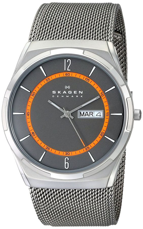 Skagen Men's SKW6007 Melbye Titanium Watch with Mesh Band ** Be sure to check…