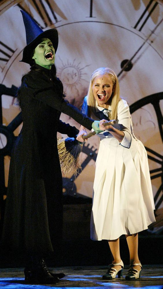 wicked the musical idina menzel and kristin chenoweth - Google Search