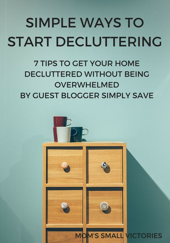 Simple Ways to Start Decluttering
