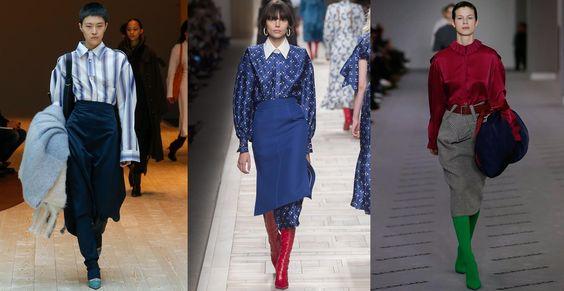 Working Girl - jupe taille haute les tendances mode de la saison automne hiver 2017 2018