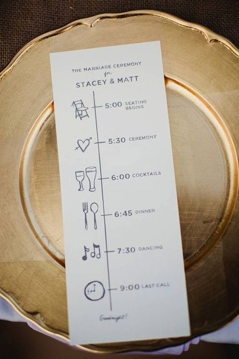 Wedding Reception Timeline Planning Guide Modwedding Wedding Reception Program Wedding Reception Timeline Wedding Programs