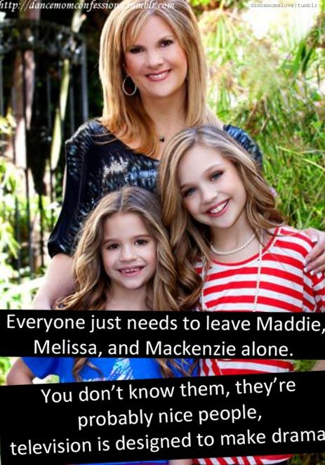 Dance moms confessions i mean come on maddie is the - Dance moms confessions ...