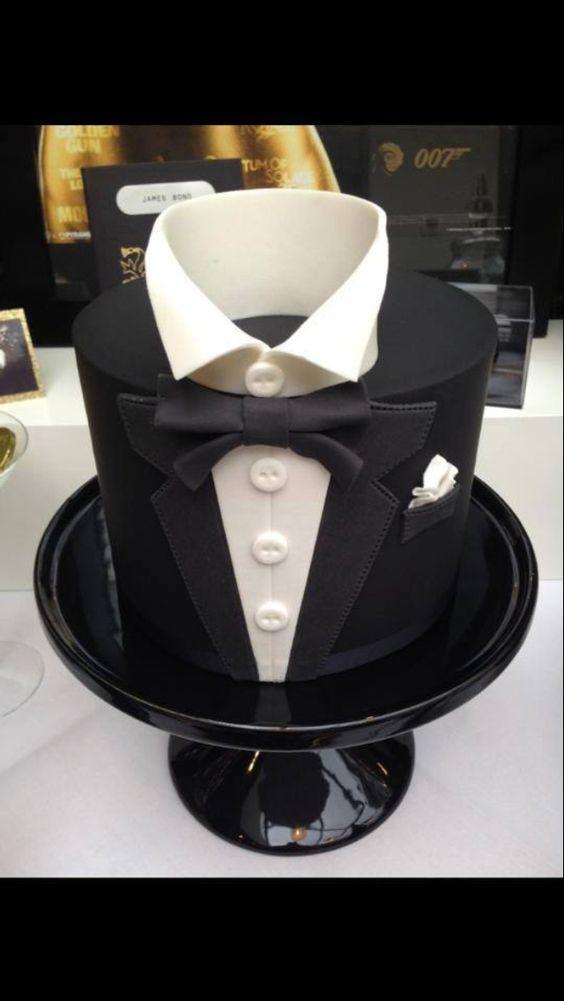 Mens Cake ideas  Invitations!  Pinterest  Wedding, Men  ~ 084842_Cake Design Ideas For Guys