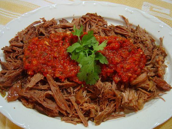 Slow Cooker Beef Machaca (Mexican Shredded Beef)