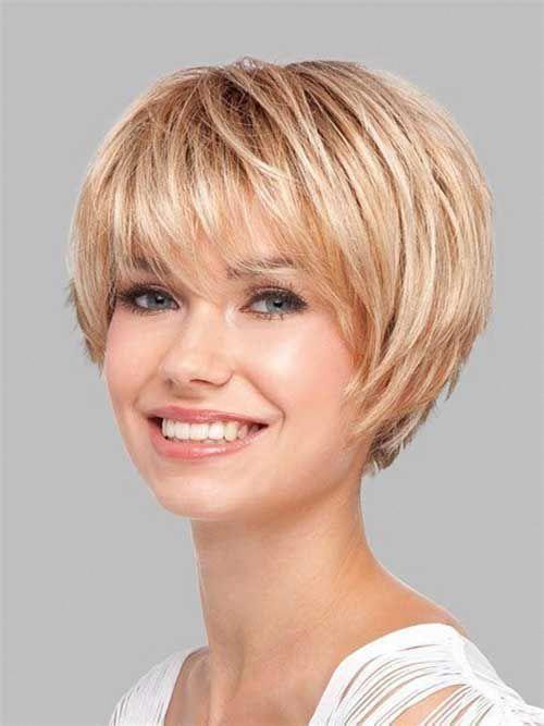 Short Hairstyles With Fine Hair 2019 Shortfinehair Frisyrer Fint Har Frisyrideer