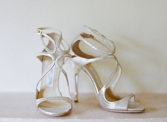 #JimmyChoo #Shoes | See the feature on www.stylemepretty... | Photo: AshleySawtellePho...
