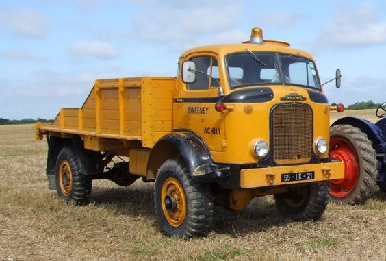 Fordson Thames E4 4x4 Tray Body Thames Trucks British Cars