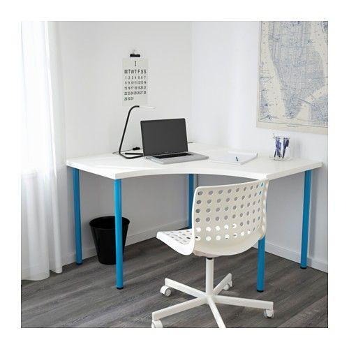 Linnmon Adils Corner Table White 47 1 4x47 1 4 Corner