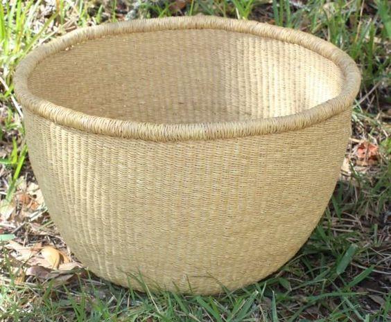 Bolga No Handle Storage Basket (BNHM85)
