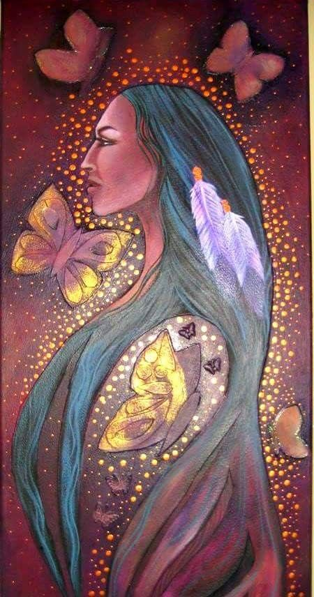 Lady Butterfly - Native American legend has it that, if we capture a butterfly and whisper a wish to her, she will carry it to the Great Spirit. By setting the butterfly free, we show respect for the balance of nature, and the wish will surely be granted. ... ღೋƸ̵̡Ӝ̵̨̄Ʒღೋ <3 <3 ... ღೋƸ̵̡Ӝ̵̨̄Ʒღೋ