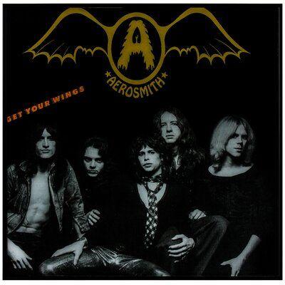 East Urban Home Aerosmith Get Your Wings Framed Textual Art Wayfair In 2020 Album Cover Art Aerosmith Rock Album Covers