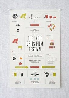 Indie Grits Film Festival by Stitch Design