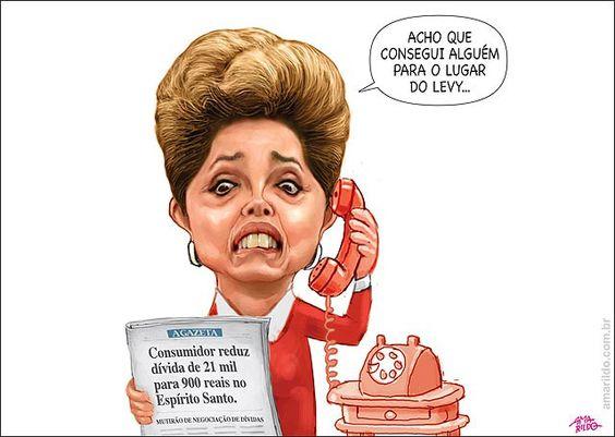 Dilma vai substituir Levy por um Consumidor, que reduz divida de 21 mil para 900 em um mutirão da Procon no ES.