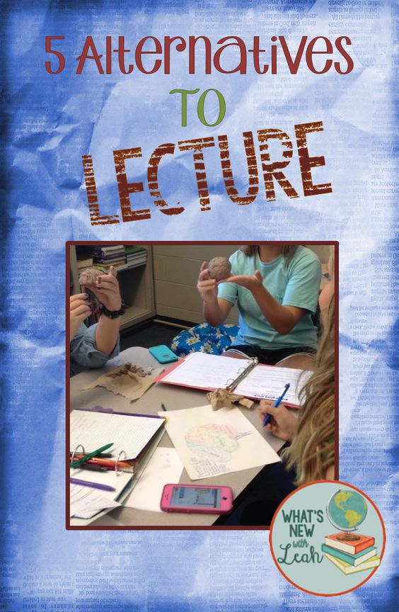 What's New? Teaching Secondary Social Studies and English with Leah: 5 Easy Alternatives to Lecture