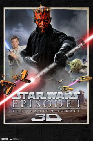Star Wars – Phantom Menace 3D