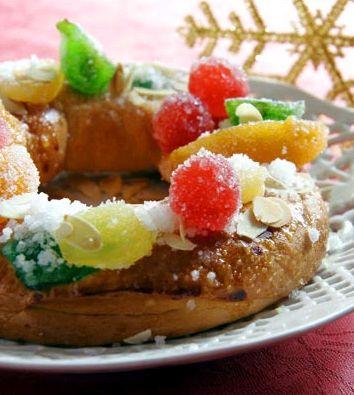 Mais um Roscón de Reyes!Uma delicia!