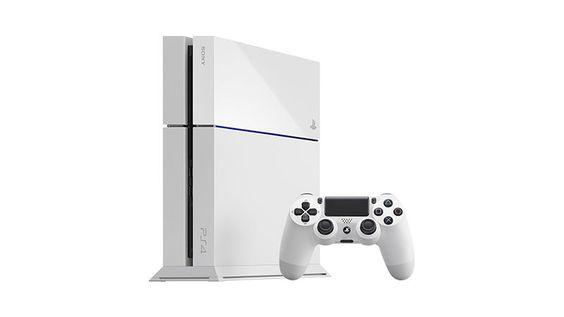 Sony Playstation 4 (white)