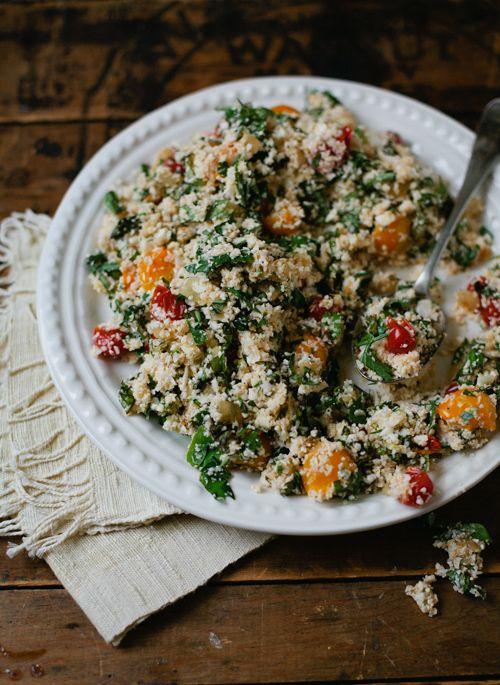 Cauliflower Couscous-gluten and grain free!