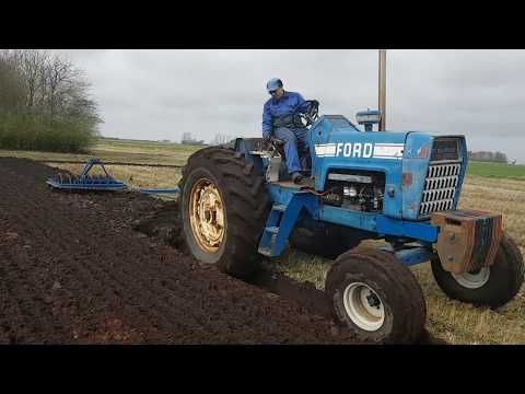 Ford 8000 Ploughing Pure Sound Youtube Ford Tractors Ford Pure Products