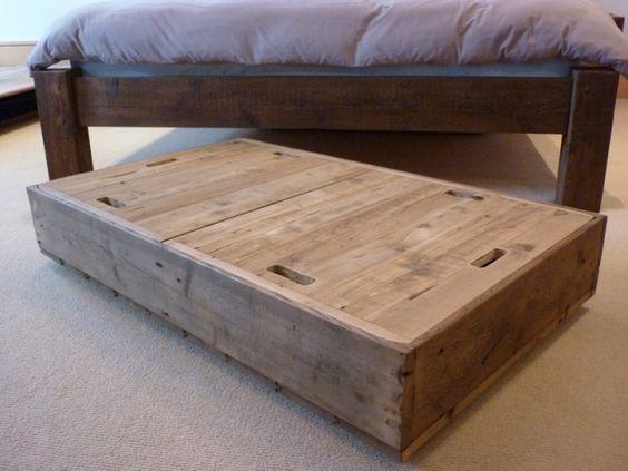 under bed storage box diy pinterest bed storage walmart and under bed. Black Bedroom Furniture Sets. Home Design Ideas