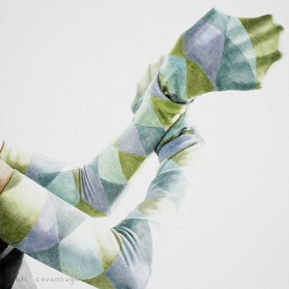 socks on arms, cute