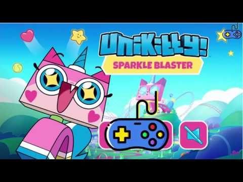 Sparkle Blaster Unikitty Games Cartoon Network العاب يونيكتي