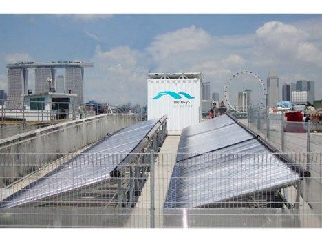 memsys: Solar-Powered Desalination Plant Fits on Shipping Containter for Disaster Relief