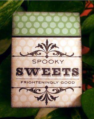 Mini Kit Kat chocolate bar, Halloween 2009