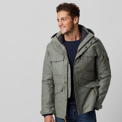 Timberland Men&39s Ragged Mountain 3-in-1 Waterproof Bomber Jacket