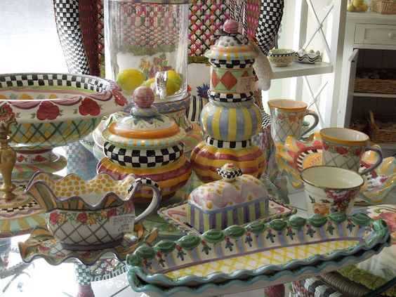 I 39 m obsessed obsessed i tell you with mackenzie childs for Mackenzie childs kitchen ideas