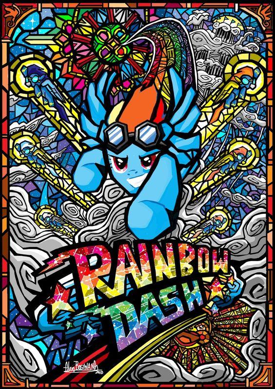 Rainbow Dash by glenbw.deviantart.com on @deviantART
