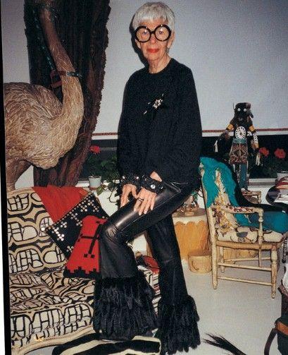 Iris Apfel, 1980s.