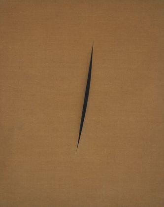 Lucio Fontana - Spatial Concept: Expectations (1960) | MoMa (New York)  Nouveau realisme