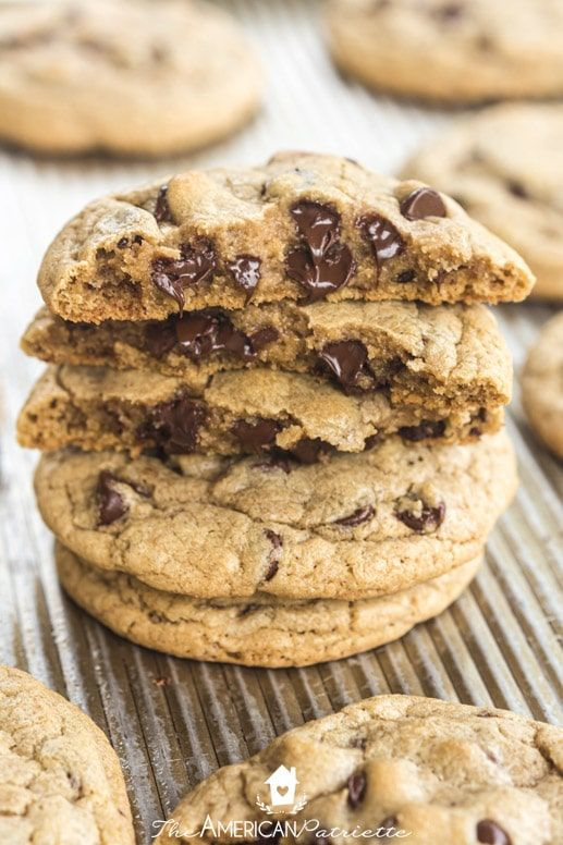 Easy Soft Chewy Chocolate Chip Cookie Recipe Recipe Cookies Recipes Chocolate Chip Chocolate Chip Cookies Cookie Recipes
