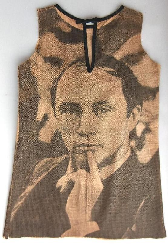 Pierre Trudeau paper dress 1968: