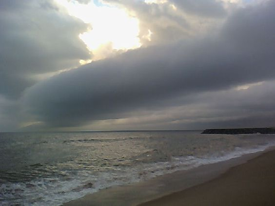 Final de tarde na Praia do Kaique em Conceição da Barra-ES