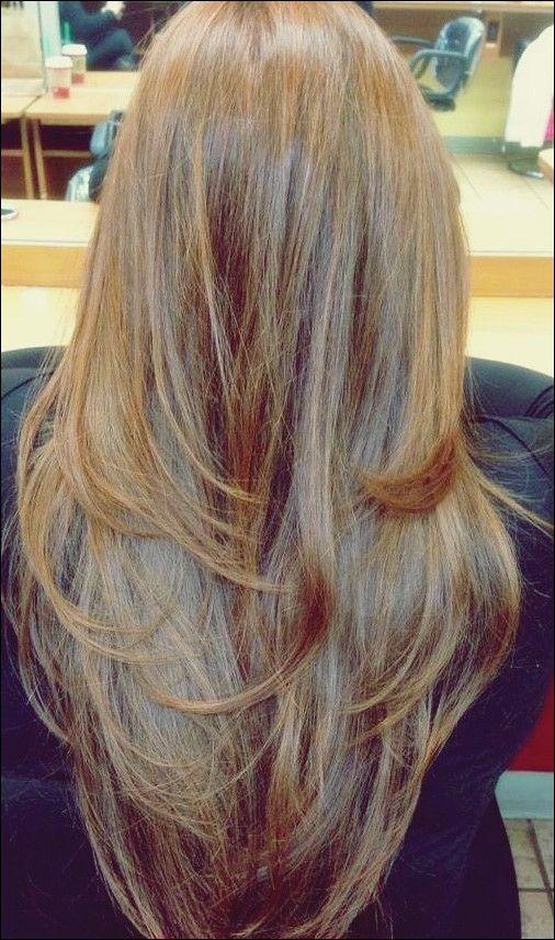 20 Glamourose Lange Layered Frisuren Fur Frauen Frisur Ideen Frisur Ideen Frisuren Lange Haare