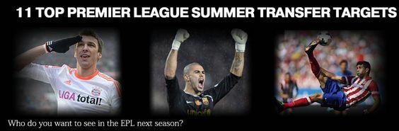 11 Top Premier League Summer Transfer Targets #valdes #costa #martinez https://www.premiersportsmemorabilia.com/blog/46-11-top-premier-league-summer-transfer-targets.html