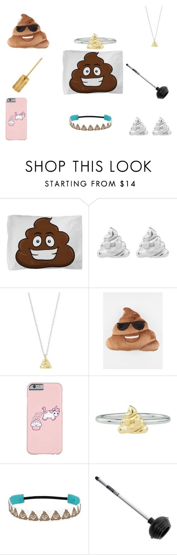 """Da seggund set"" by poopy-toilet ❤ liked on Polyvore featuring beauty, Rock 'N Rose and Villari"