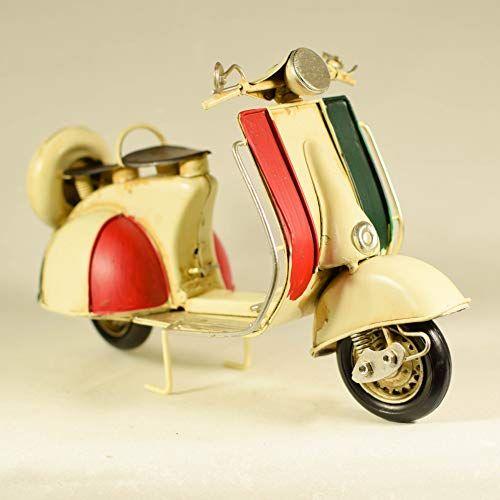 Uniquegift Metal Beige Italian Scooter Vespa Model Vint Https Www Amazon Co Uk Dp B07j5gly1r Ref Cm Sw R Pi D Vespa Models Italian Scooter Cyclist Gifts