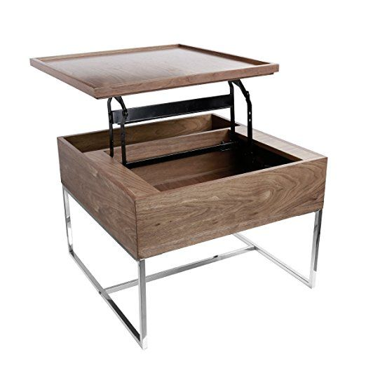 End Side Table Night Stand With Storage Brown Coffee Table