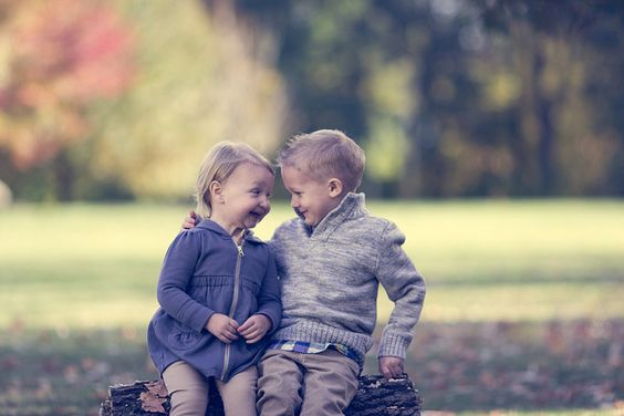 Look at these cute kids! Sibling Love. Photography