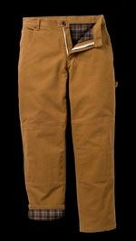 Lakin McKee Flannel Work Duck Pants $20
