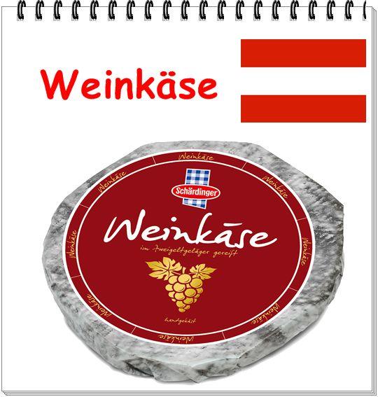 QUEIJO:  Weinkaese  ÁUSTRIA: LEITE:vaca CLASSIFICAÇÃO:semimacio